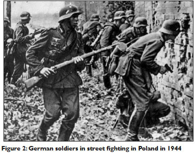German soldiers in Poland