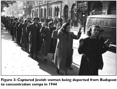 Captured Jewish women