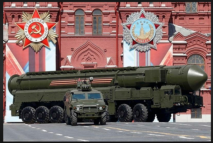 Soviet intercontinental balistic missile