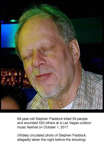 Stephen Paddock with caption